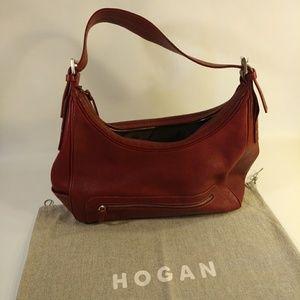 Hogan Vintage Leather Handbag w/ Original Dustbag